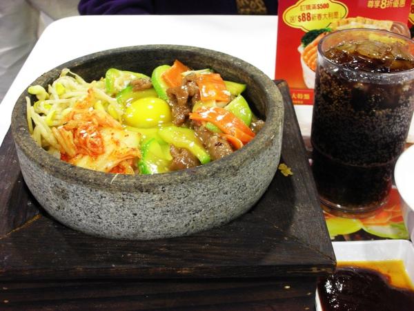 韓式石頭鍋飯@美心