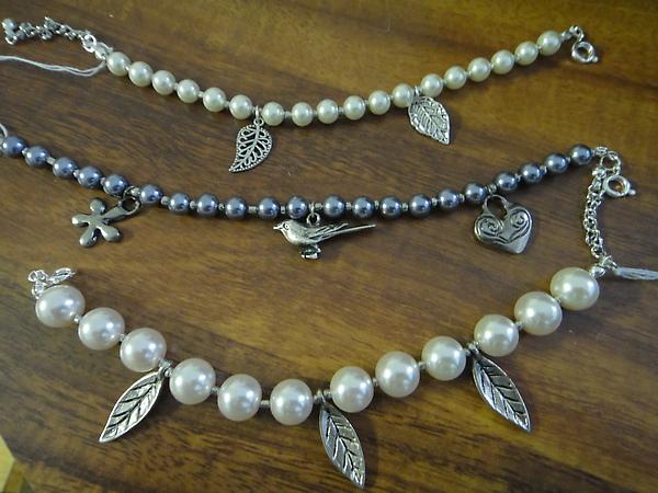 玻璃珍珠手鍊