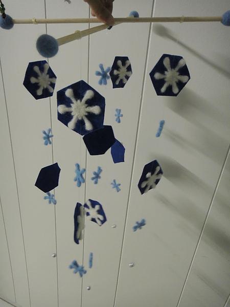 雪花片片風鈴