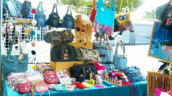 my stall @ parap market
