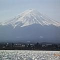 遊湖時所見之富士山