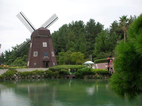 樂天酒店的風車