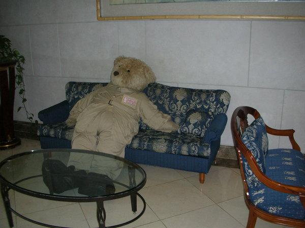 樂天酒店的泰迪熊