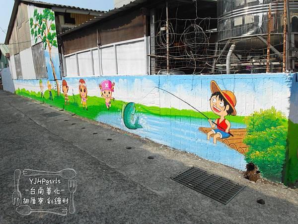台南善化胡厝寮彩繪村04