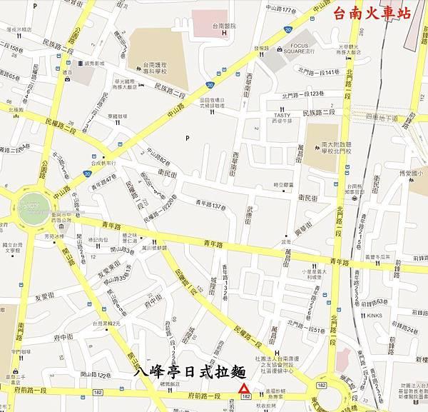 八峰亭地圖