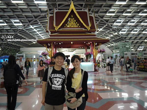 交通篇_泰國機場大廳