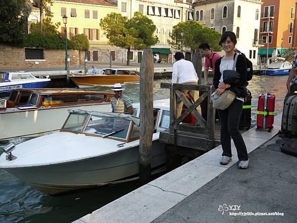 交通篇_威尼斯計程艇