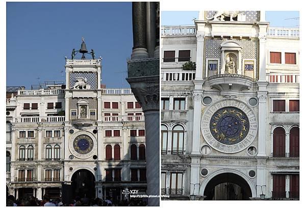 景點篇_威尼斯聖馬可廣場_日月星座鐘