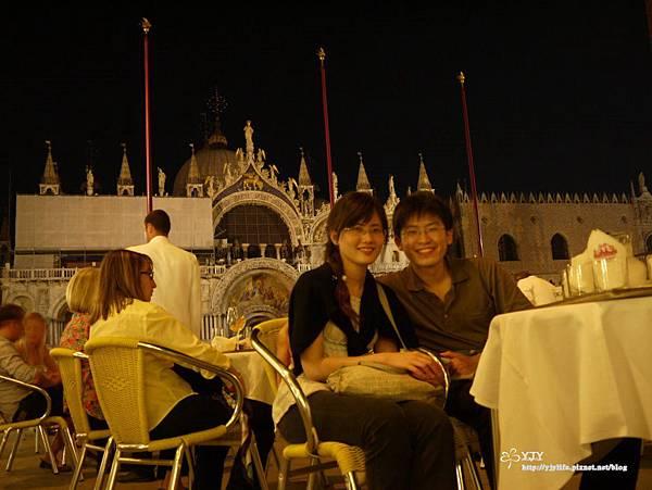 景點篇_威尼斯聖馬可廣場_露天音樂咖啡