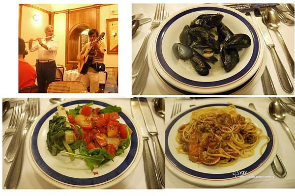 餐宿篇_羅馬晚餐