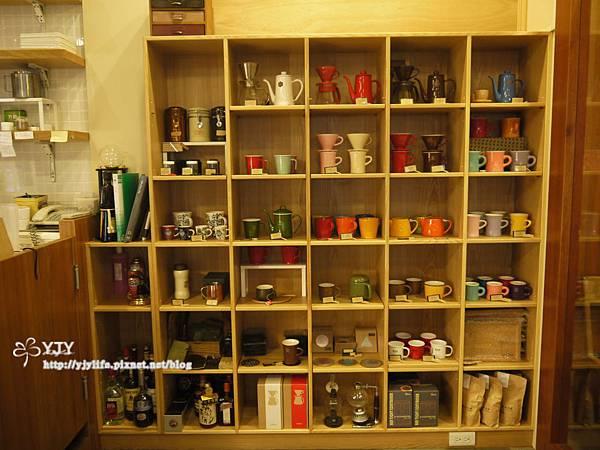 一樓咖啡壺杯集錦
