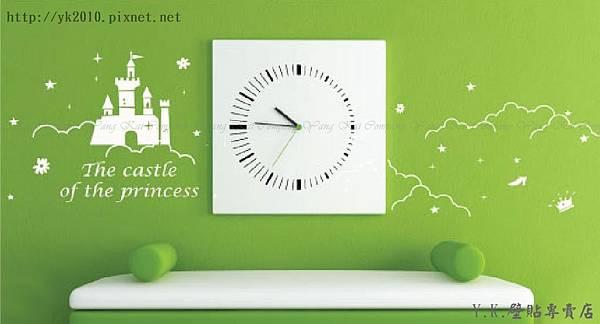 F-012公主城堡壁貼.jpg
