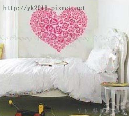 Y2-018S心形玫瑰 -1壁貼.jpg