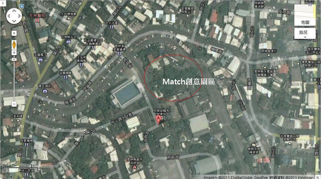 Match創意園區google map.JPG