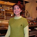 麗都日本料理店的老闆娘