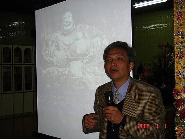 20060301(三)-吳文成會長-佛像藝術之美