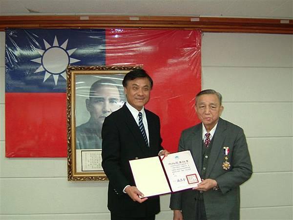 王啟宗教授赴內政部接受內政部一等獎章DSCF8593