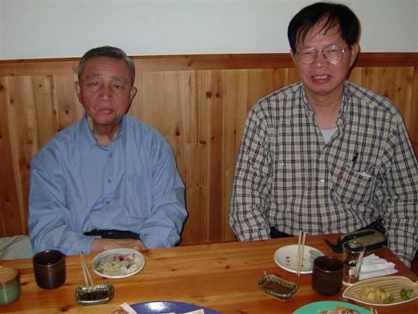 葉倫會和王啟宗教授接受吳小虹招待DSCF1291