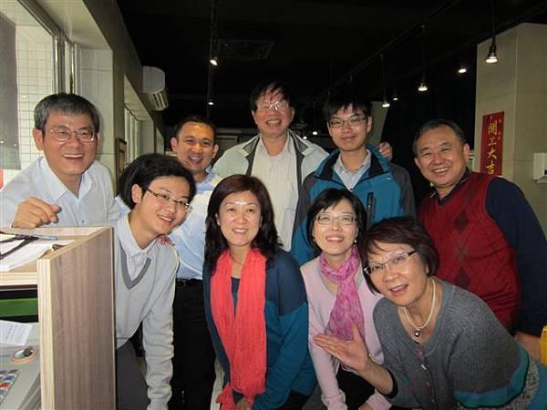 高樹榮伉儷暨貴賓在小林日式料理店(2014.2.4)IMG_1295
