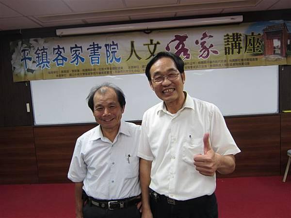 吳家勳校長和唐春榮校長(2014.6.19)IMG_2101