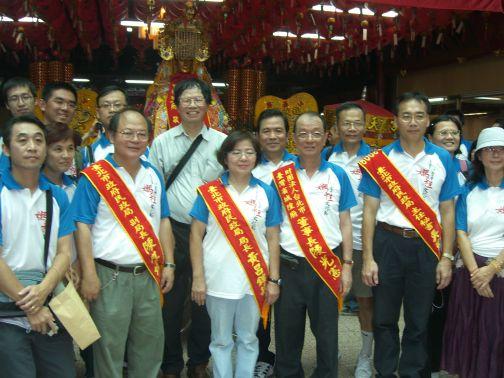 2009北台灣媽祖文化節黃呂局長和貴賓合影(2009.9.26)CIMG6121.JPG