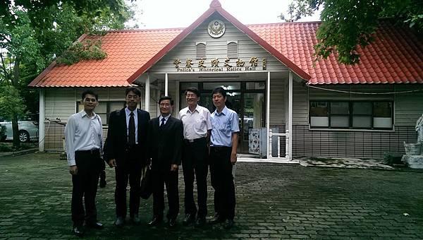 署秘書室副主任黃祥益專員 蒞局參訪