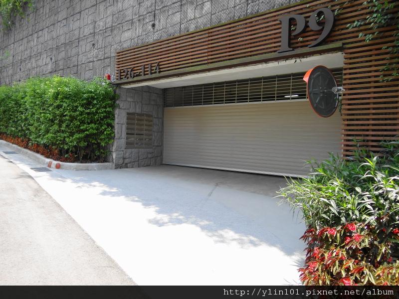 P9車道出入口