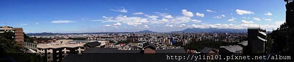 曉山青180度全景