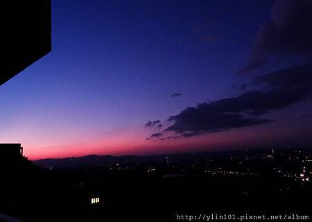 曉山青的黃昏 2011-11-24