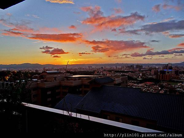 HDR+逆光校正拍夕陽