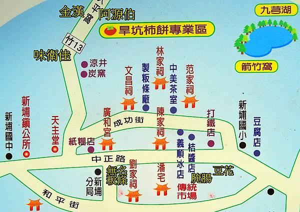 新埔 地圖