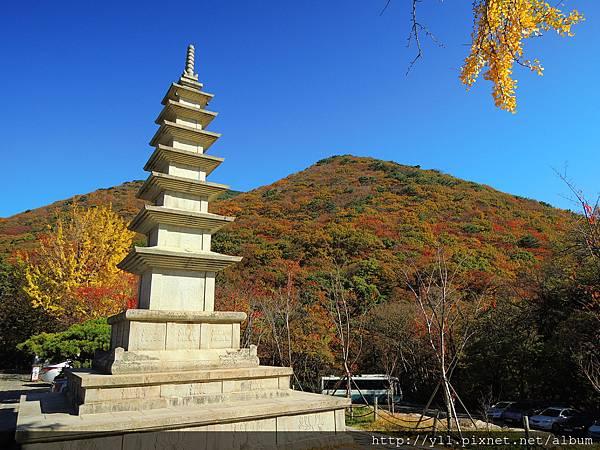 梵魚寺七層石塔