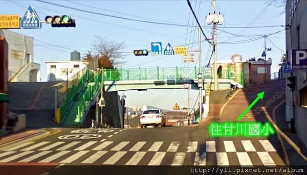 甘川小學前天橋