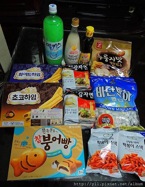 韓國超市必買零食