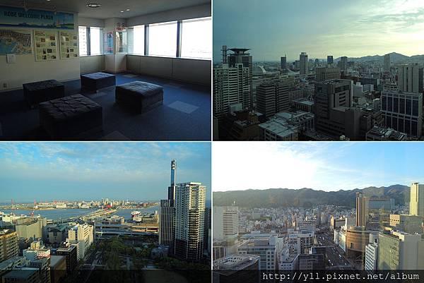 神戶市役所 1 館 24 階夜景