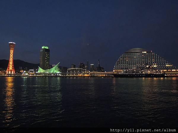 Mosaic 看神戶港夜景