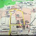 北野異人館街地圖