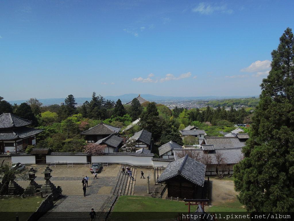 東大寺 二月堂視野