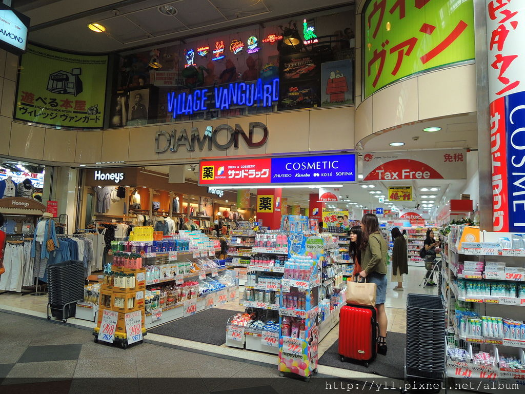 新京極通 藥妝店