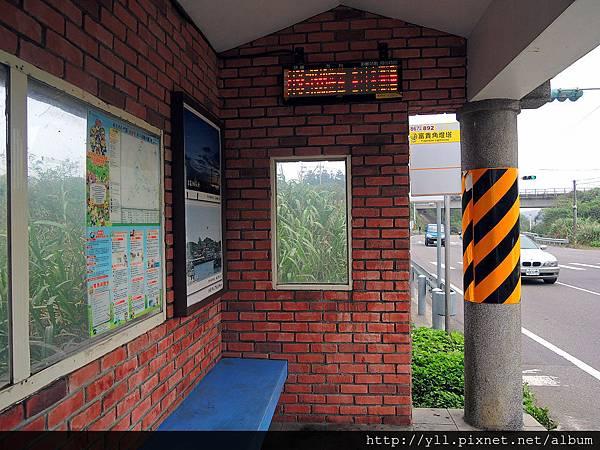 2016.04 富貴角燈塔公車站