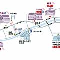 城崎溫泉地圖