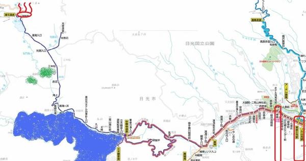 nikko/okunikko map