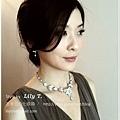 晚禮服造型 bridal hair and makeup
