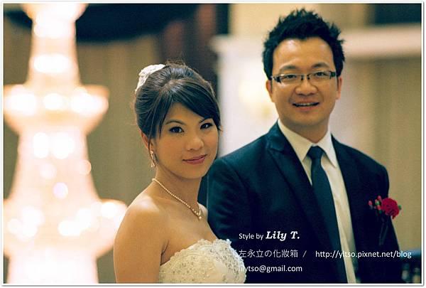 左永立 新娘造型