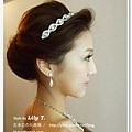 新娘造型 晚禮服 bridal hair and makeup