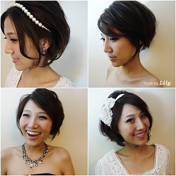 新娘秘書_短髮造型