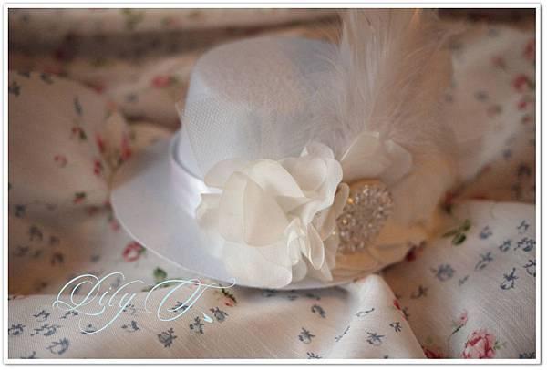 台北新娘秘書推薦 Lily 英式禮帽