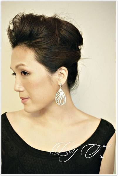 台北新娘秘書 整體造型 bridal hair and makeup
