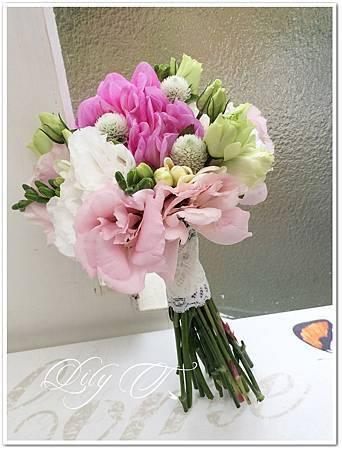 新娘捧花胸花設計bouquet 台北新娘秘書左永立