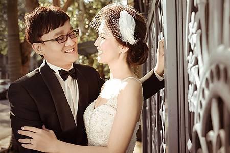 台北新娘秘書左永立Lily 自助婚紗造型 新娘古典白紗法式造型 整體彩妝造型 bridal hair and makeup